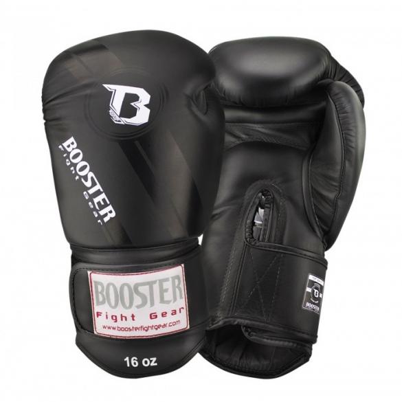 Booster Pro Range BGL V3 leren bokshandschoenen zwart  BGL1-V3-g