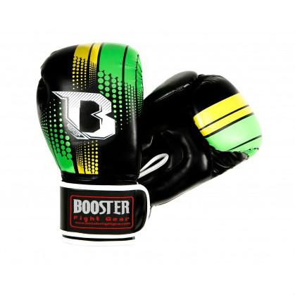 Booster BT Sparring bokshandschoenen groen/geel  BTSPARRINGGREENYELLOW