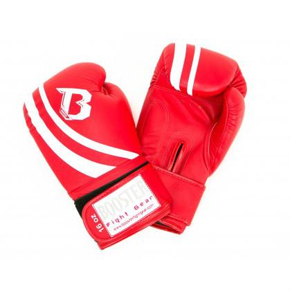 Booster Pro Range V2 leren bokshandschoenen rood  BOOSTERPRBGLV2RE