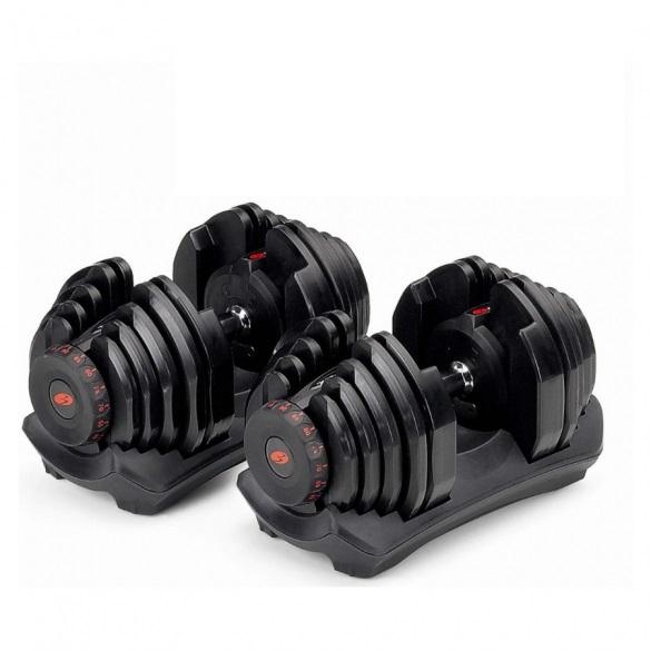 Bowflex 552i S selecttech haltersysteem 23,8 kg pair  100319