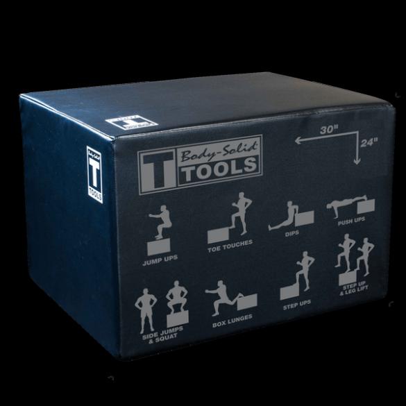 Body-Solid Soft-sided plyo box  BSTSPBOX