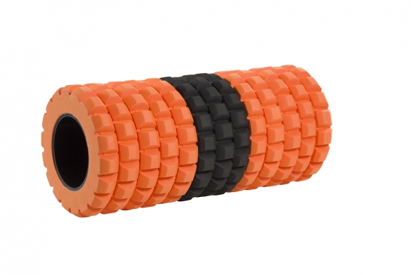 Casall HIT Tube roll zwart/oranje  660112531
