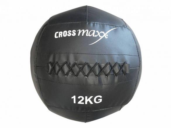 Lifemaxx Crossmaxx Wall Ball 12 KG antraciet LMX 1245.12  LMX1245.12=VRR