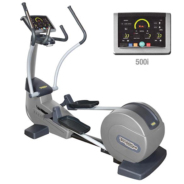 TechnoGym crosstrainer Synchro Excite+ 500i zilver gebruikt  BBTGSE500IZI