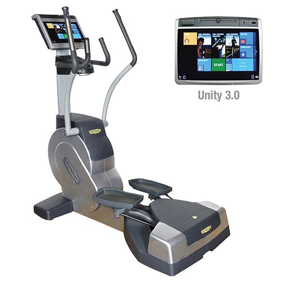 TechnoGym lateral trainer Excite+ Crossover 700 Unity 3.0 zilver gebruikt  BBTGEC7003UZI