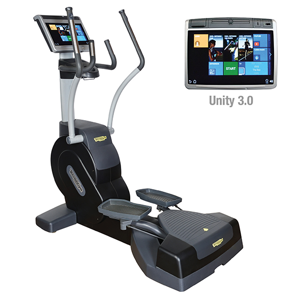 TechnoGym lateral trainer Excite+ Crossover 700 Unity 3.0 zwart gebruikt  BBTGEC7003UZW