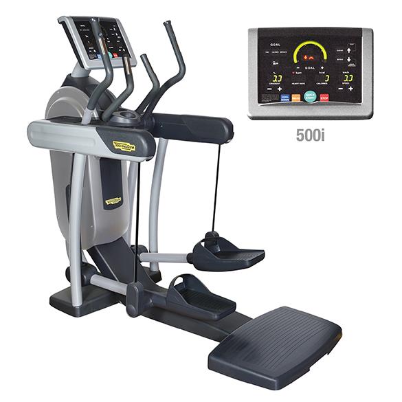 TechnoGym crosstrainer Vario Excite+ 500i zilver gebruikt  BBTGVE500IZI