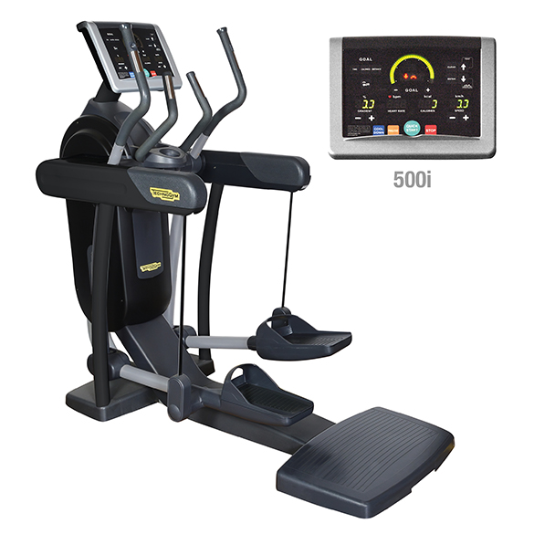 TechnoGym crosstrainer Vario Excite+ 500i zwart gebruikt  BBTGVE500IZW