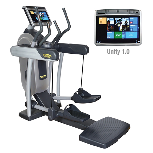 TechnoGym crosstrainer Excite+ Vario 700 Unity zilver gebruikt  BBTGEV700UZI