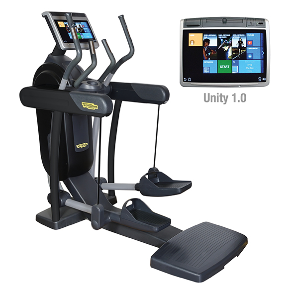TechnoGym crosstrainer Excite+ Vario 700 Unity zwart gebruikt  BBTGEV700UZW