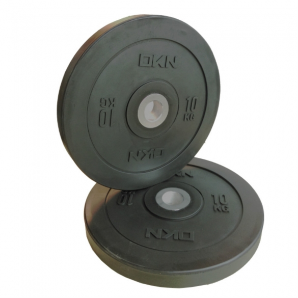 DKN Olympic Bumper Plate 15 kg  20696