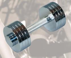 Dunlop halterset 10 kg chrome  DU75037