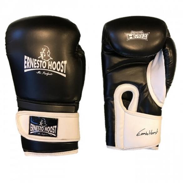 Ernesto Hoost Amateur bokshandschoenen zwart/wit  EHAMBG-blk/whi