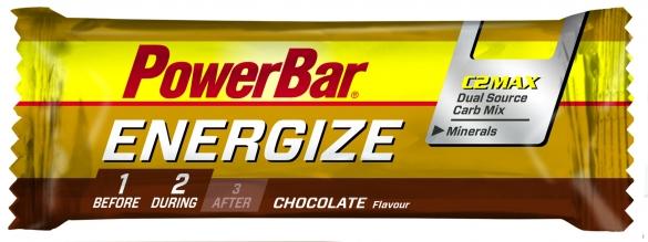 Powerbar Energize bar 25 x 55 gram  POENERGIZEBAR