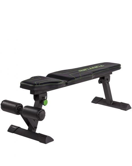 Tunturi FB80 Flat Bench buik- en halterbank  17TSFB8000