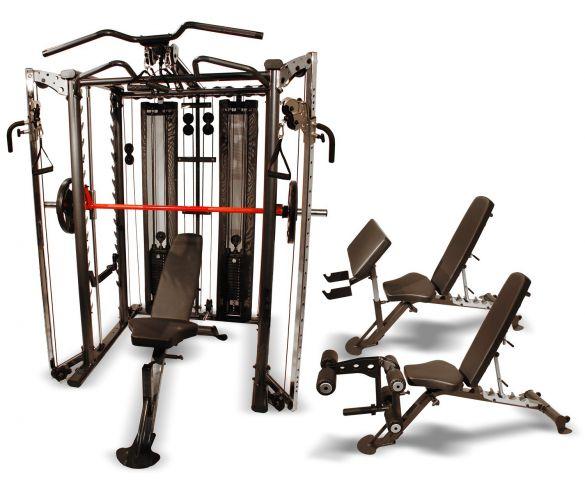 Finnlo Maximum Inspire SCS Smith Cage System  3555