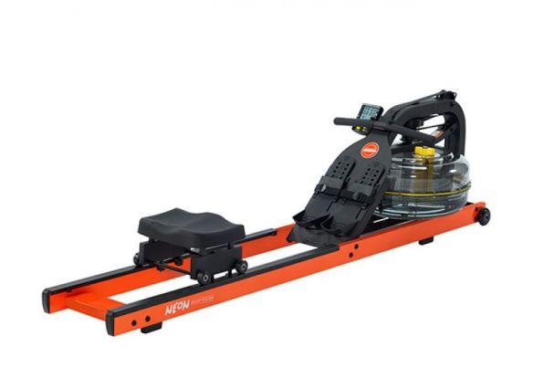 First Degree roeitrainer Fluid Rower Neon Hybrid Rower Bright Orange  NEONorange