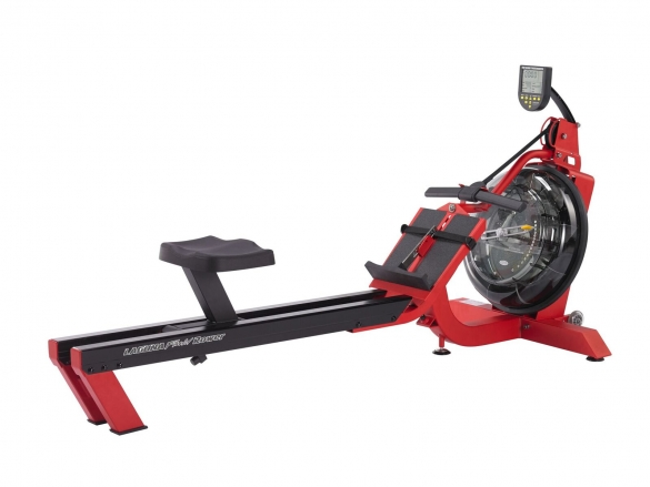 First Degree roeitrainer Fluid Rower S6 Laguna Red  FR-S6-RED
