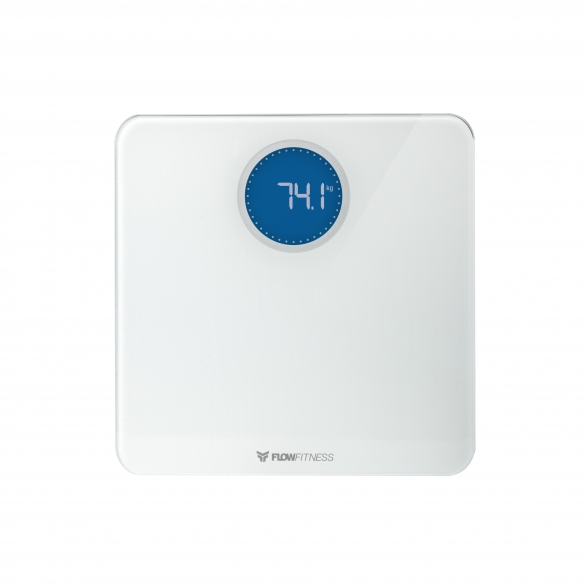 Flow Fitness Bluetooth Smart Scale White BS20w  FFA16004