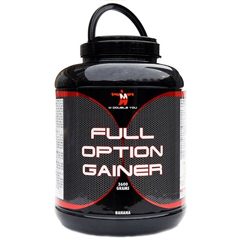 M Double You Full Option Gainer 3600 gram vanille  2012-van