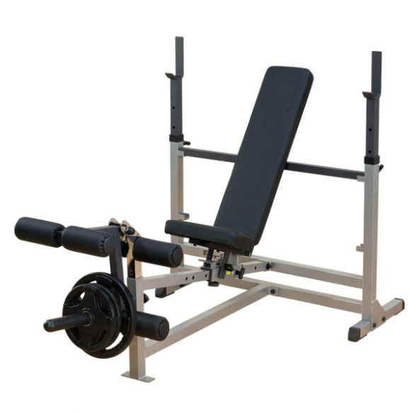 Body Solid PowerCentre Combo bench halterstation  GDIB46L