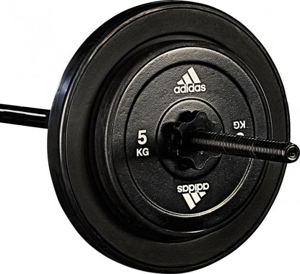 Adidas Gewichtschijf 5 kg (1 stuk)  7203.026