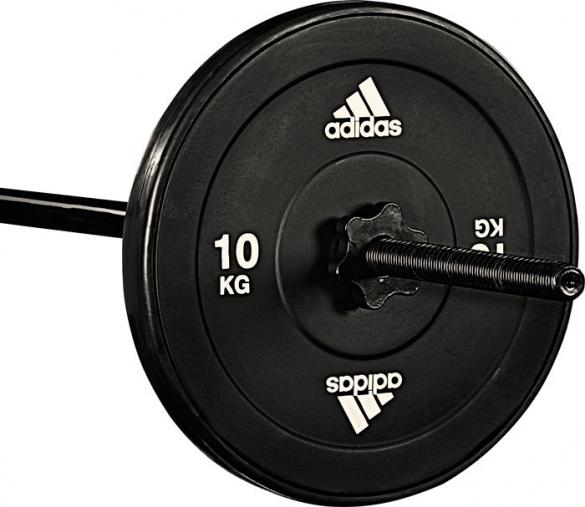 Adidas Gewichtschijf 10 kg (1 stuk)  7203.027