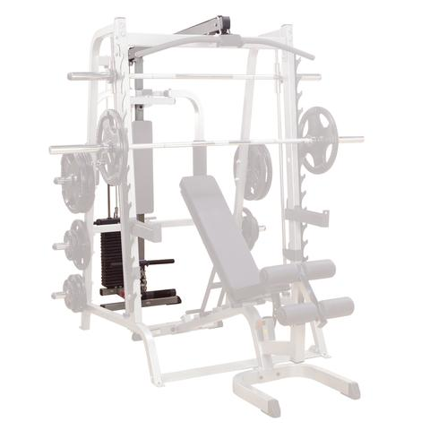 Body-Solid Lat attachment voor de Body-Solid Series 7 smith machine  GLA348QS