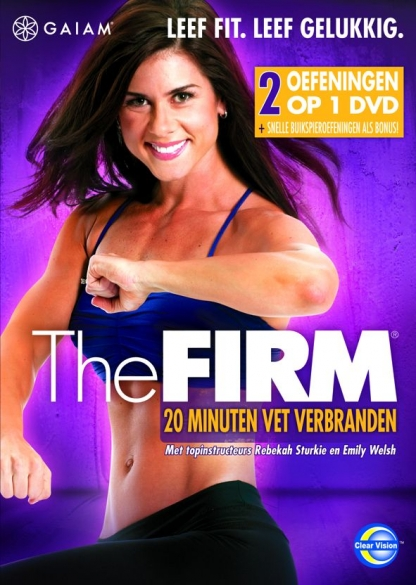 Gaiam THE FIRM - 20 minuten vet verbranden  GMDVD062NL