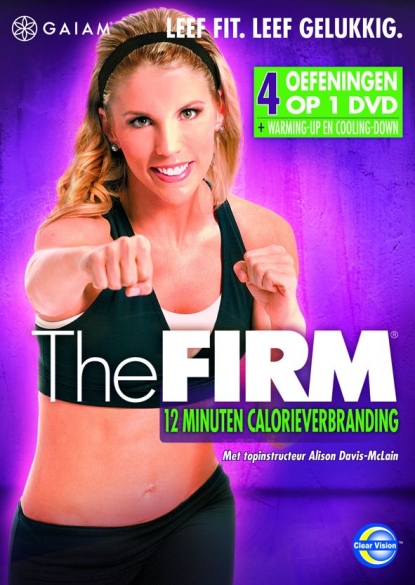 Gaiam THE FIRM - 12 Minuten Calorieverbranding  GMDVD063NL