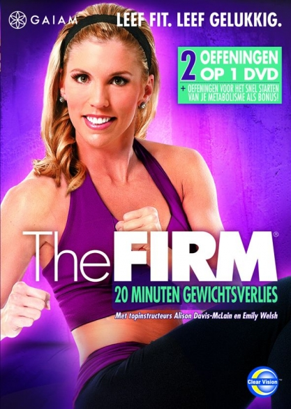 Gaiam THE FIRM - 20 minuten gewichtsverlies  GMDVD065NL