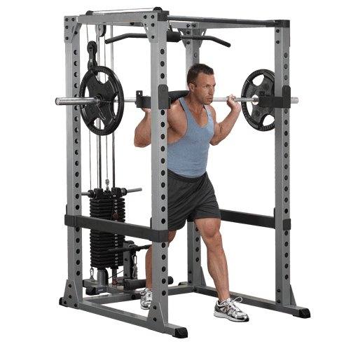 Body-Solid Pro Power rack Full Options  GPR378FB-full-options