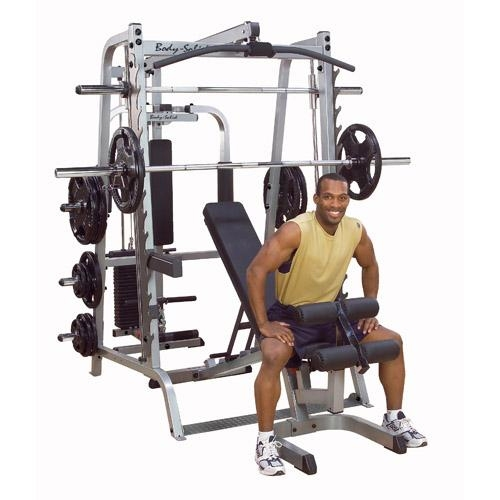 Body Solid Smith Machine GS348P4 Series 7 Full Options  BODYSOLIDGS348P