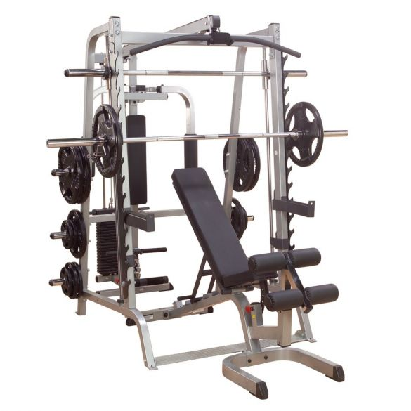 Body-Solid Series 7 smith machine full options  KGS348FB