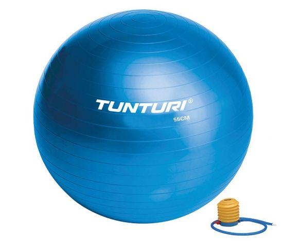 Tunturi Gymbal 65 cm blauw  14TUSFU135