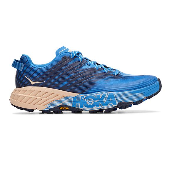 Hoka One One Speedgoat 4 trail hardloopschoenen blauw dames  1106527-IBBA