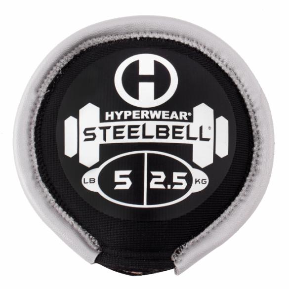 Hyperwear SteelBell 2,5 kg zilver  513005