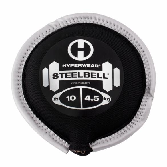 Hyperwear SteelBell 4,5 kg zilver   513010