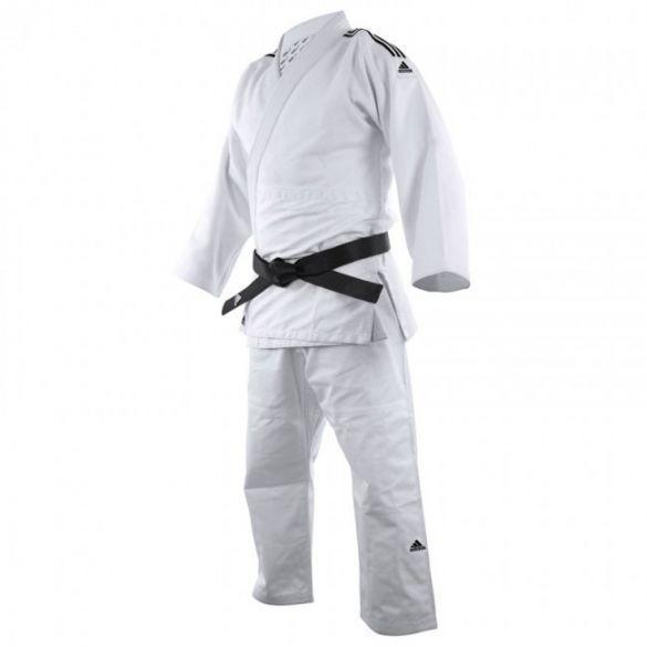 Adidas Judopak J690 Quest wit/zwart  ADIJ690-10900