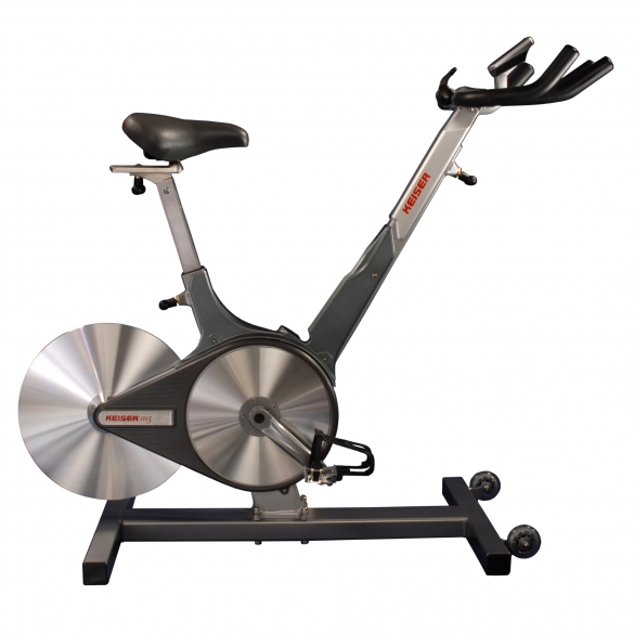 Keiser spinningbike M3 Indoor cycle demo model  KEM3