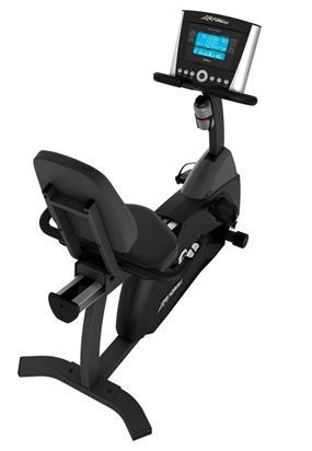 Life Fitness ligfiets recumbent Cycle R1 advanced Gebruikt LFR1EXTENDEDDEM
