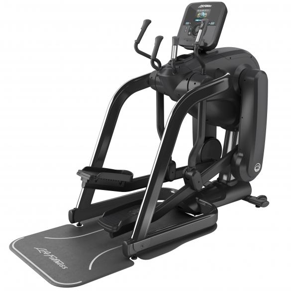 Life Fitness Platinum Club Series Flexstrider Explore Black Onyx demo  PH-PCSFX-XWXXX-2101CBO-DEMO