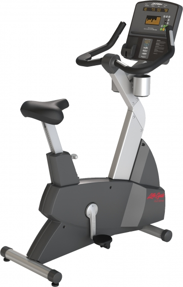 Life Fitness hometrainer Club Series Upright lifecycle CSLU Nieuw LFCLUBCYCLE