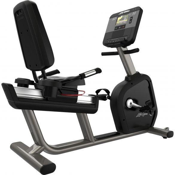 Life Fitness ligfiets Recumbent LifeCycle Club Series +  PH-CSLRDX-0000C-01