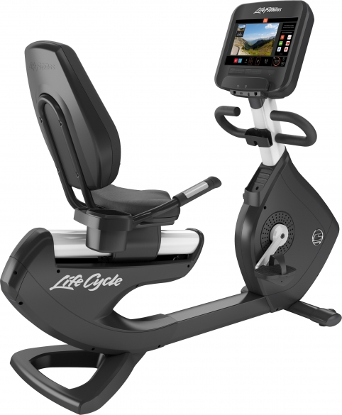 Life Fitness ligfiets Platinum Club Series Discover SE3 Diamond White  PH-PCREE-3WXXD-2*07 DW