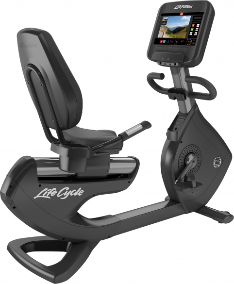 Life Fitness ligfiets Platinum Club Series Discover SE3 Titanium Storm  PH-PCREE-3WXXD-2*07 TS