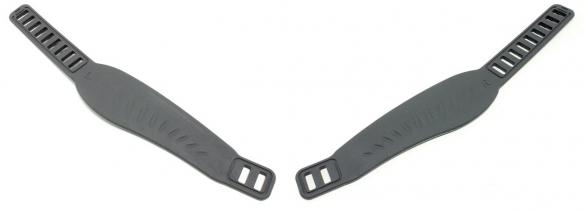 Life Fitness Set Pedaalbandjes voor hometrainer 9500HR  0K63-01238-0205-6