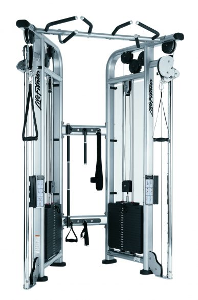 Life Fitness Signature Series Dual Adjustable Pulley 2x 195 KG  CMDAP