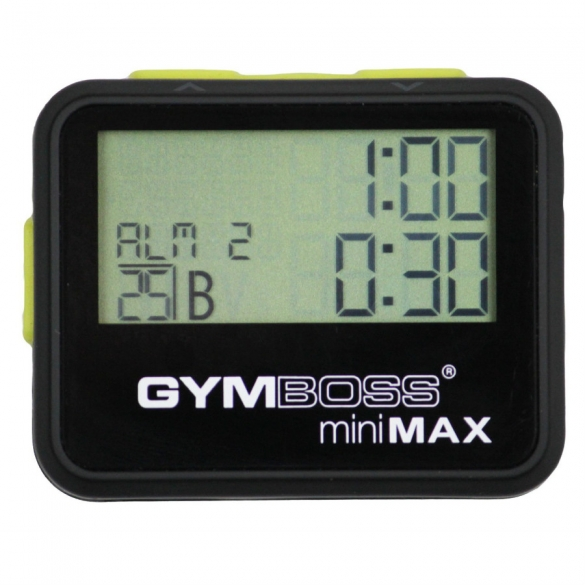 Gymboss Minimax Interval Timer  LMX 1281