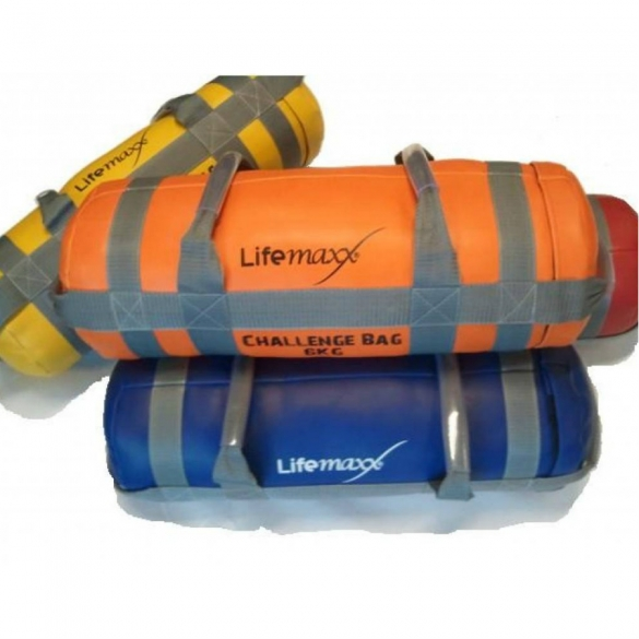 Lifemaxx Challenge Bag 12 kilogram Purple LMX 1550.12  LMX1550.12Voorraad